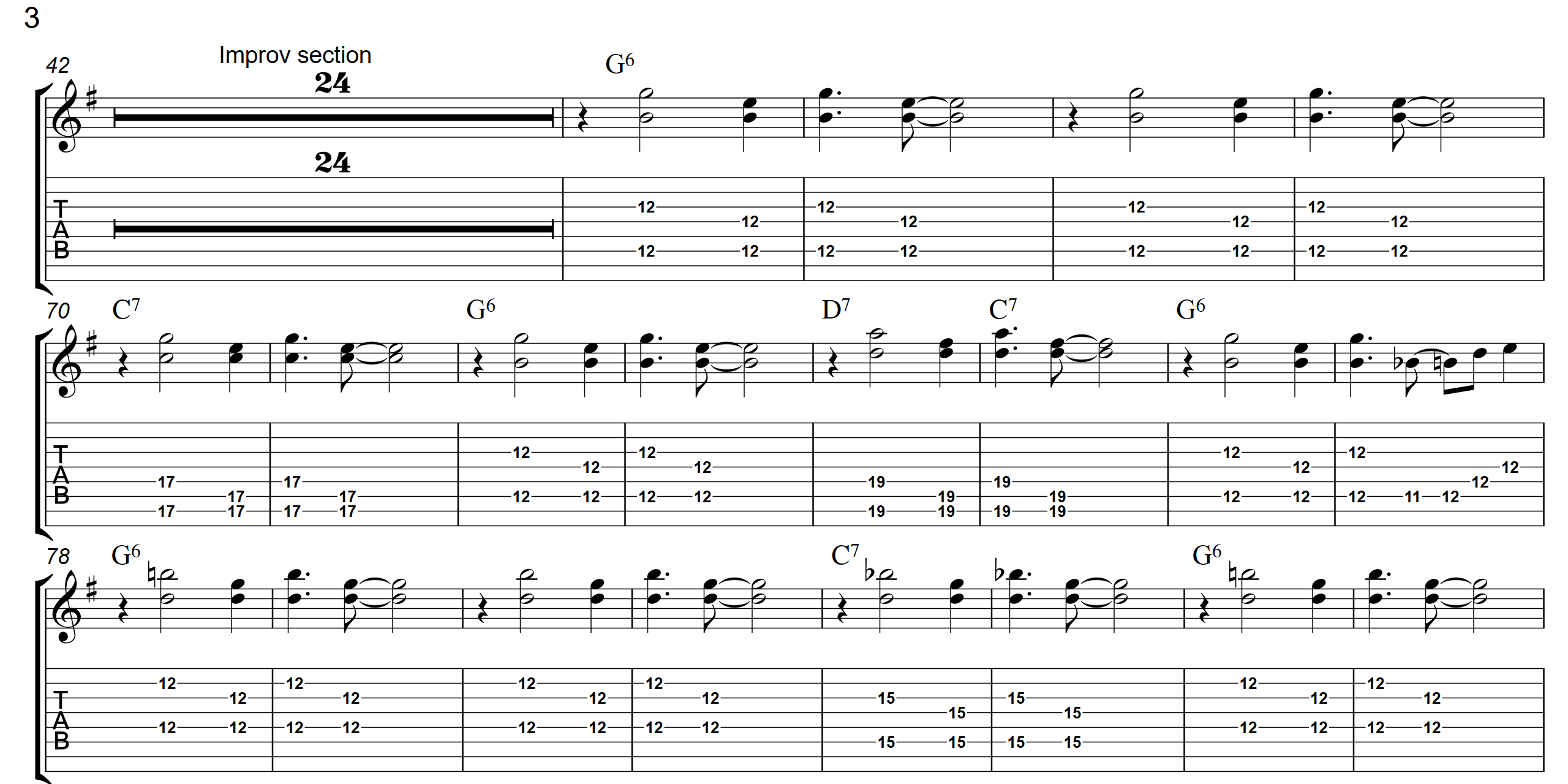 Bluegrass Boogie  TAB - Page 3 - Landscape