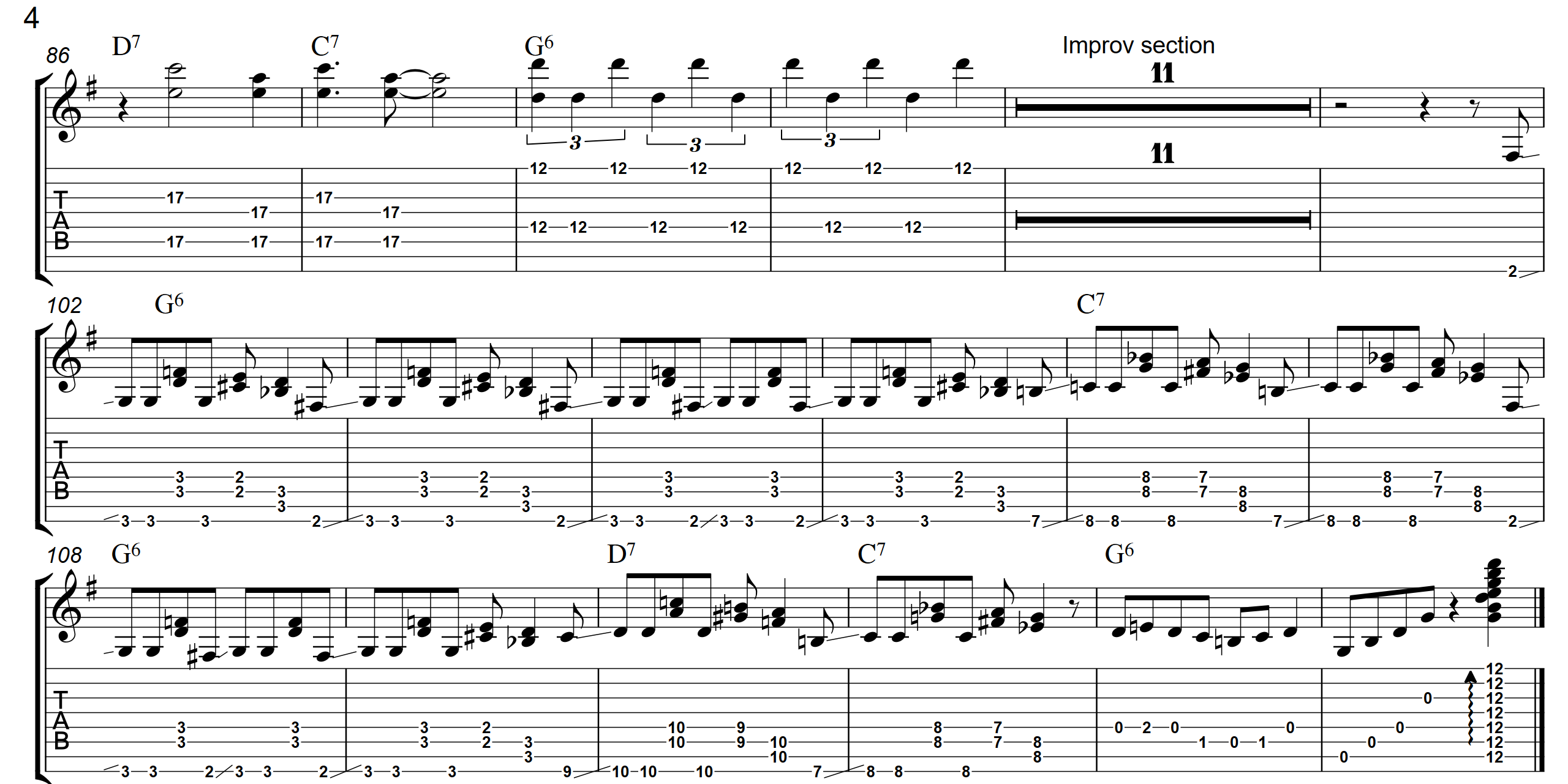 Bluegrass Boogie  TAB - Page 4 - Landscape